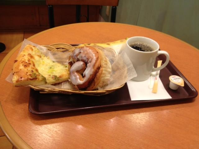 今日の朝食はちょっぴり贅沢?
