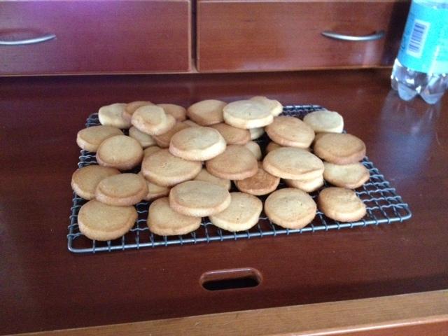 久しぶりクッキー