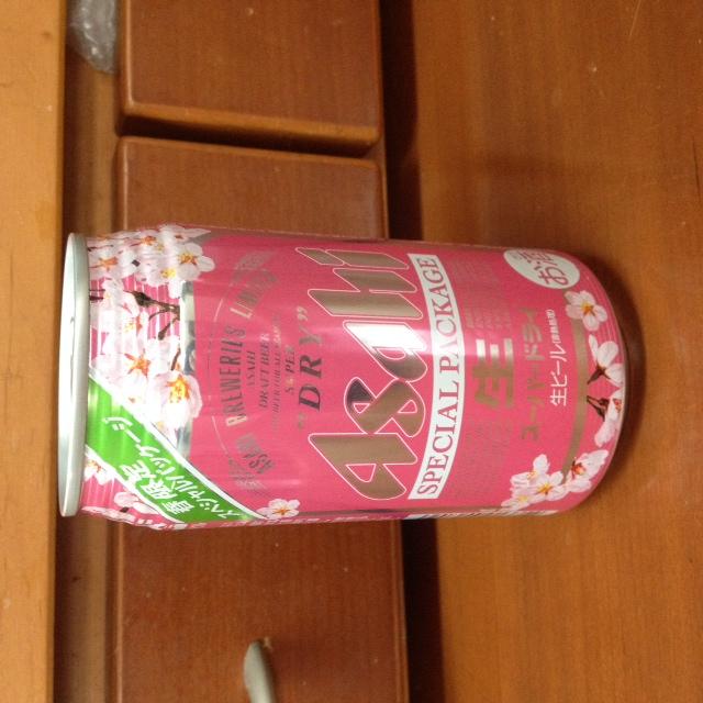 スーパードライ桜色