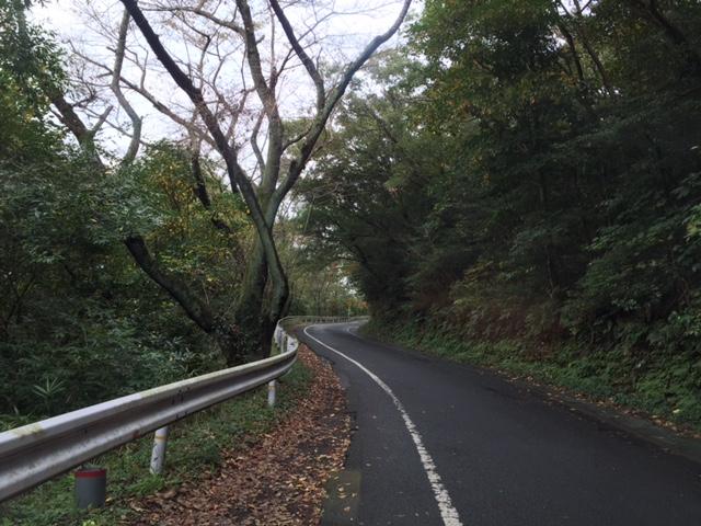 病院への道