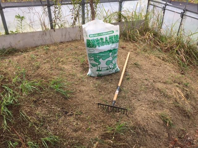 堆肥撒きの続き