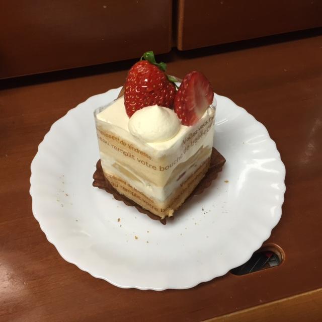 久しぶりケーキ