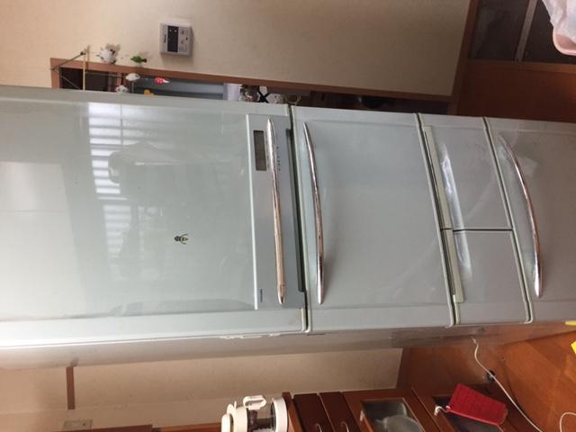 冷蔵庫よ、おつかれさま
