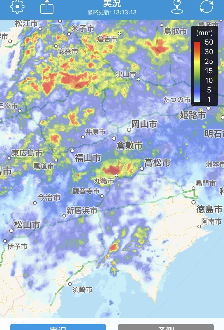 今年の梅雨はめっちゃ降る